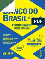 Apostila Banco Brasil 2021 - Escrit Comercial Versao Digital