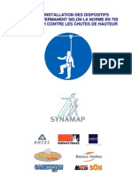 Synamap - Guide d'installation dispositifs contre chutes