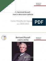 5. Russell su nomi e descrizioni definite