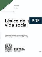 Léxico de La Vida Social - Nacionalismo - F Vizcaíno