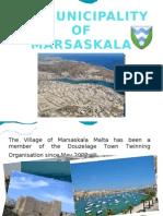 THE MUNICIPALITY OF MARSASKALA