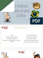 BRASIL-COLÔNIA-SLIDES