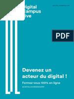 Catalogue Digital Campus Live