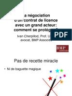 La_negociation_d_un_contrat_de_licence_
