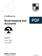 Book-keeping and Accounts L2