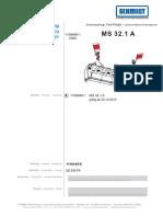 Каталог Unmog MS 32 передний отвал