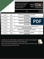 Agenda 19 al 23 Julio licencia de conducir Edomex