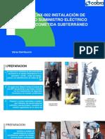 PPT AST CNX 002 Instalación de nuevo suministro eléctrico con acometida subterránea