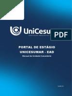 Manual+Da+Unidade+Concedente+ +Portal+de+Estágio+Unicesumar+Ead