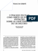 Fracasso escolar- Patto