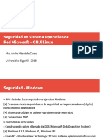Seguridad - Windows A CRIPTOGRAFIA INFORMATICA