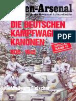 №16 Die Deutschen Kampfwagen Kanonen 1935-1945