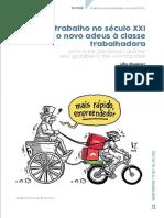 Vitor Filgueiras e Sávio Cavalcanti - O trabalho no século XXI