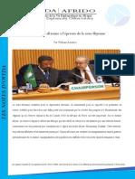 La diplomatie africaine à l'épreuve de la crise libyenne