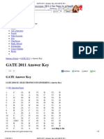 GATE 2011 Answer Key and GATE 2011 Solutions _ Solved Papers