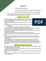 Fenotipi Comportamentali File Completo