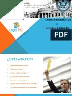 Derecho a la intimidad vs Derecho a la informaciòn. Caso Wikileaks