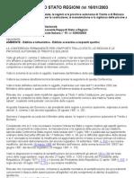 ACCORDO STATO REGIONI del 16-01-03