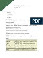6.2 Operaciones básicas en archivos texto y