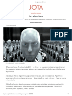 Eu Algoritmo JOTA Info