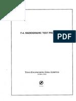 Radiography,    Liquid Penetrant,Magnetic,Hydro Peneumatic Test Procedures
