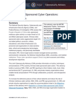 Chinese State-Sponsored Cyber Operations