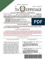 gazzetta ufficiale 2010 n16