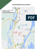Desvios Transitorios Cierre de Accesos y Salidas Desde Circunvalación a Autopista AP 01 (Modificado)