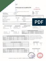 certificado de calibracion ES-105