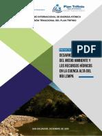 Informe Final Desarrollo Sostenible del Medio Ambiente y Recursos Hidricos de la Cuenca Alta del Rio Lempa