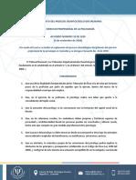 ACUERDO Nº 28 2020 PROCESO DICIPLINARIO