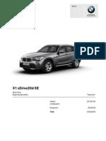 My BMW X1