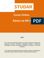 Básico de NR 31- Apostila 1