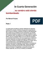 Guerra de Cuarta Generación - Manuel Freytas