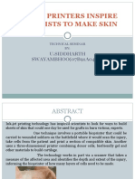 inkjet printers print skin