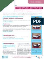 Fiche Conseil Les Traumatismes Bucco Dentaires