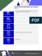 Cci Prestation Fichier Aef Annuaire Des Entreprises de France