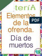 TABLAS PARA LOTERIA DE DIA DE MUERTOS