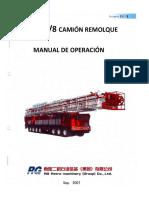 Manual Camión Remolque