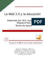 2.0 NOGUEIRA. La Web 2.0 para la innovación educativa