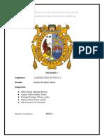 INFORME 2 MOVIMIENTO VIBRATORIO FISICA II