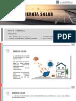 ENERGIA SOLAR EXPOSICION