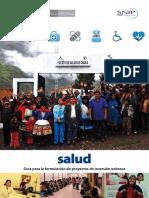 Guía formulación de proyectos - salud