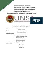 Columnas de opinion (E.Rendón)