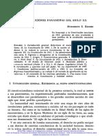 CONSTITUCIONALISMO PANAMENO DEL SIGLO XX