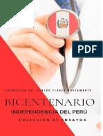 Promoción Dr. Carlos Flores Bustamante  BICENTENARIO 2021 INDEPENDENCIA DEL PERÚ