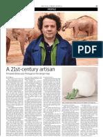 Fernando Brízio Interview for The Wall street journal