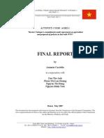 Các chính sách thương mại trong nông nghiệp và các nghĩa vụ về nông nghiệp của Việt Nam (tài liệu song ngữ)