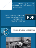 NR 12 SEGURANÇA NO TRABALHO EM MÁQUINAS E EQUIPAMENTOS MODELO 03