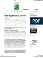 High Memory In The Linux Kernel